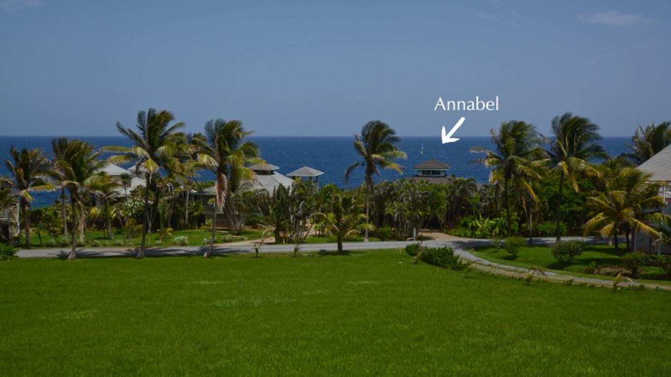 Annabel is located on the oceanfront. – Ruth Healey-Elmore