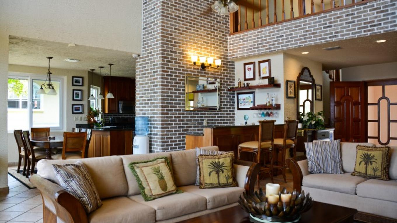The living area of Casa Cascada. – Ruth Healey-Elmore