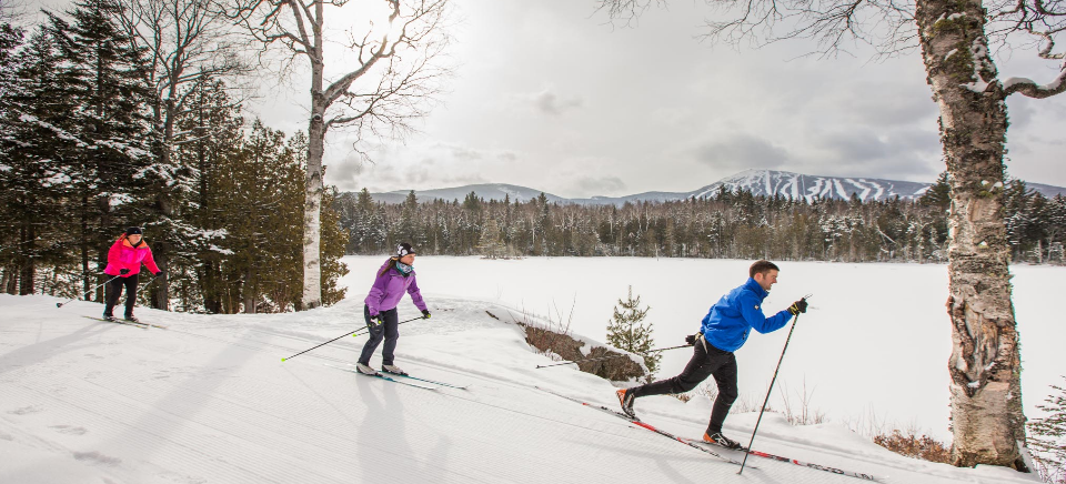 Nordic skiing at Sugarloaf Outdoor Center