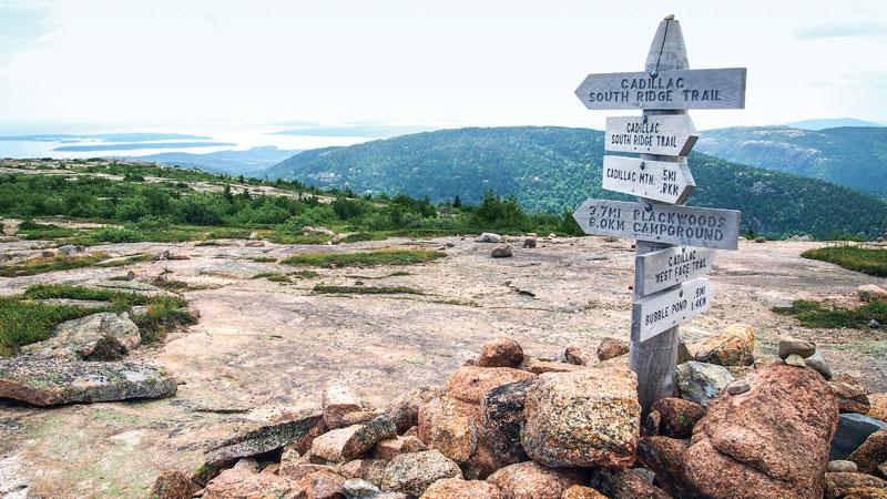 Summit on Mount Desert Island