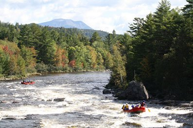 White Water Rafting Maine Fall Foliage Trips