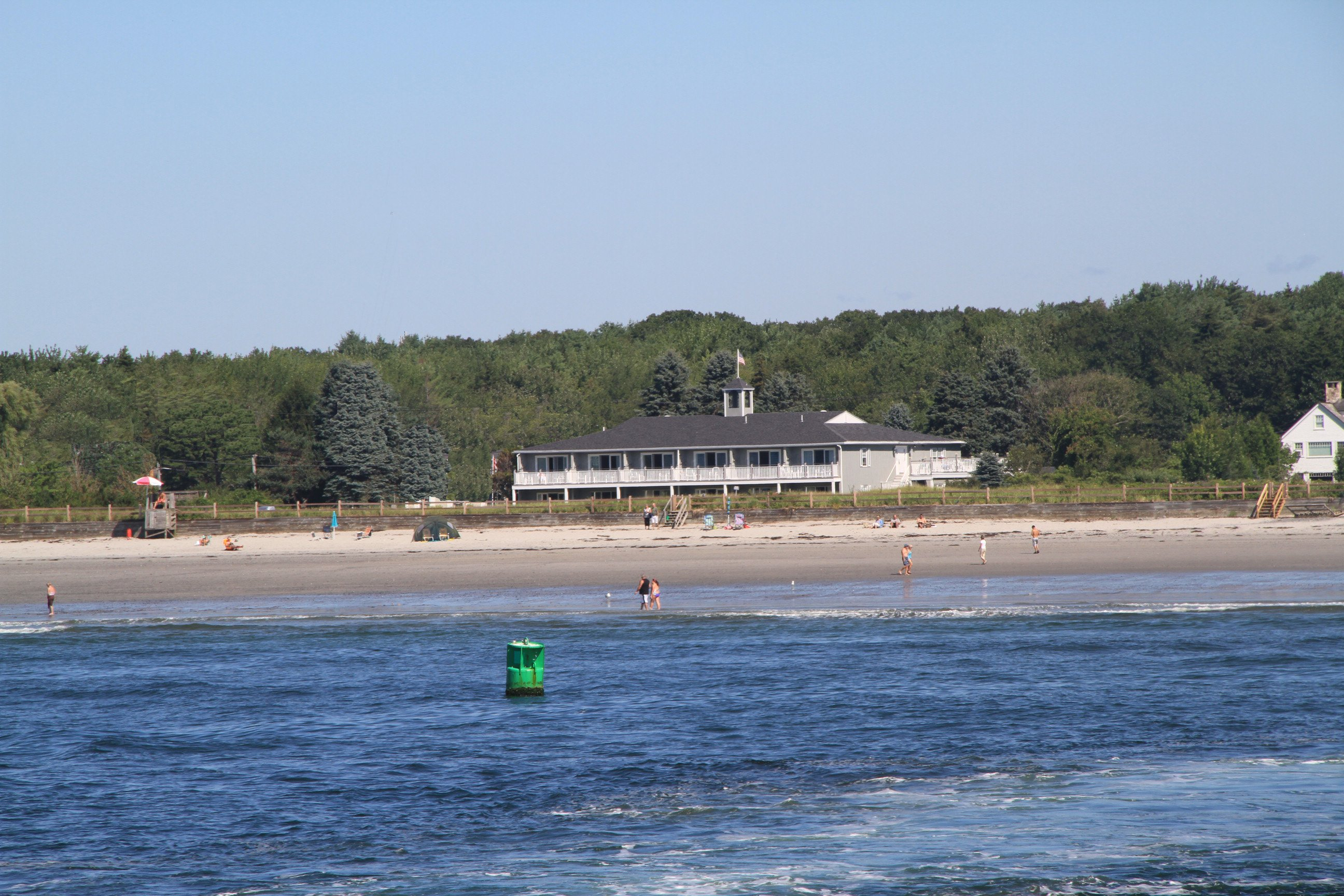 The only property on Kennebunk Beach