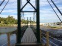 Take a walk to the 'Wiggley Bridge' a small, but majestic bridge leading to walking paths.