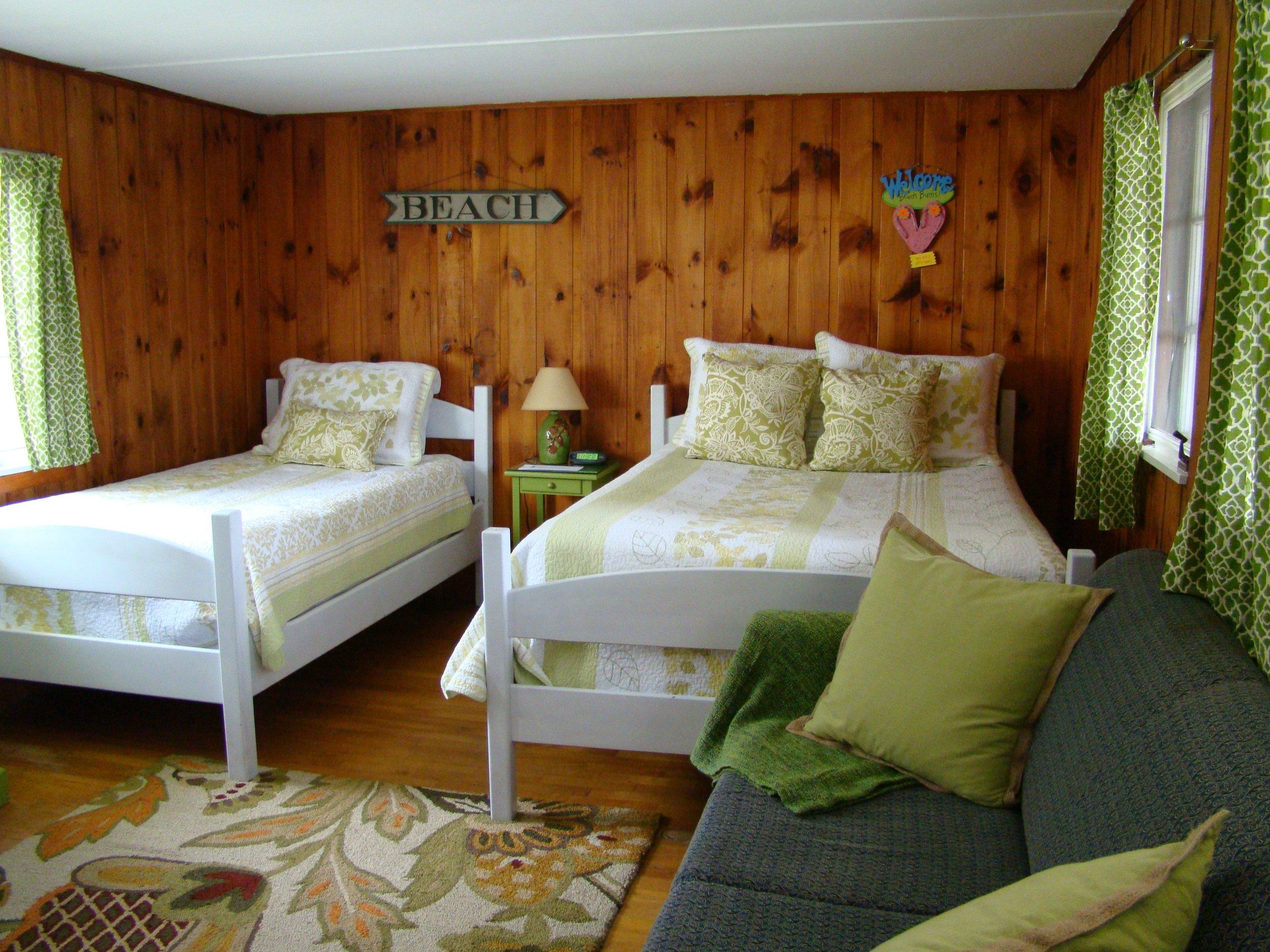 Motel room #13 - full bed, twin bed, full sleeper sofa, TV, refrigerator, microwave, coffeemaker