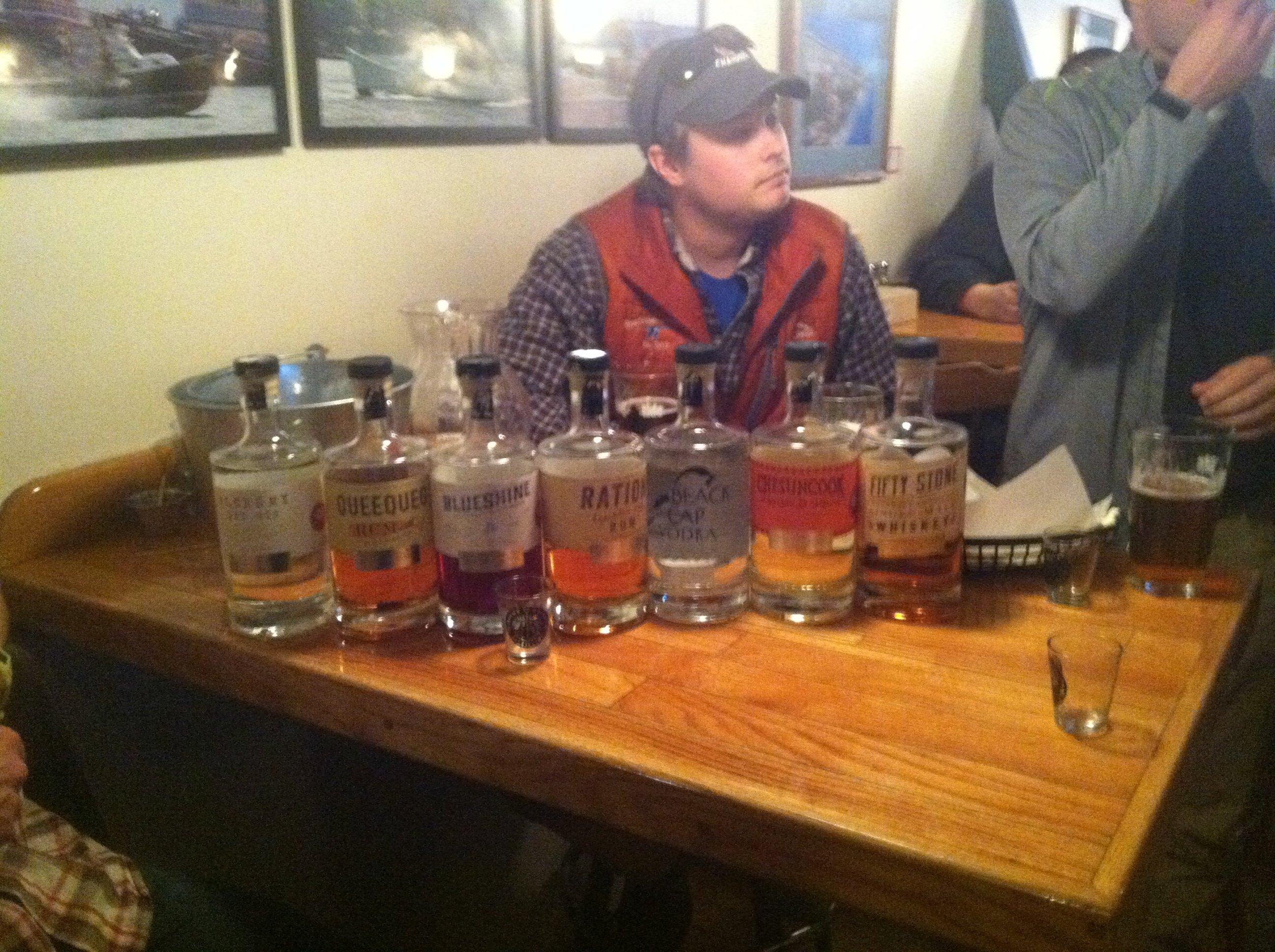 Maine Distilleries Tasting Night