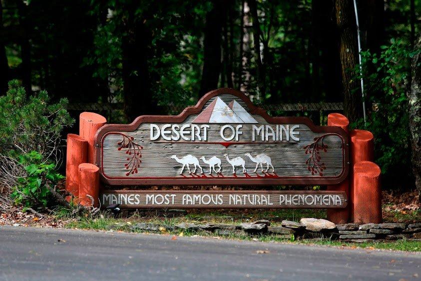 The Desert of Maine