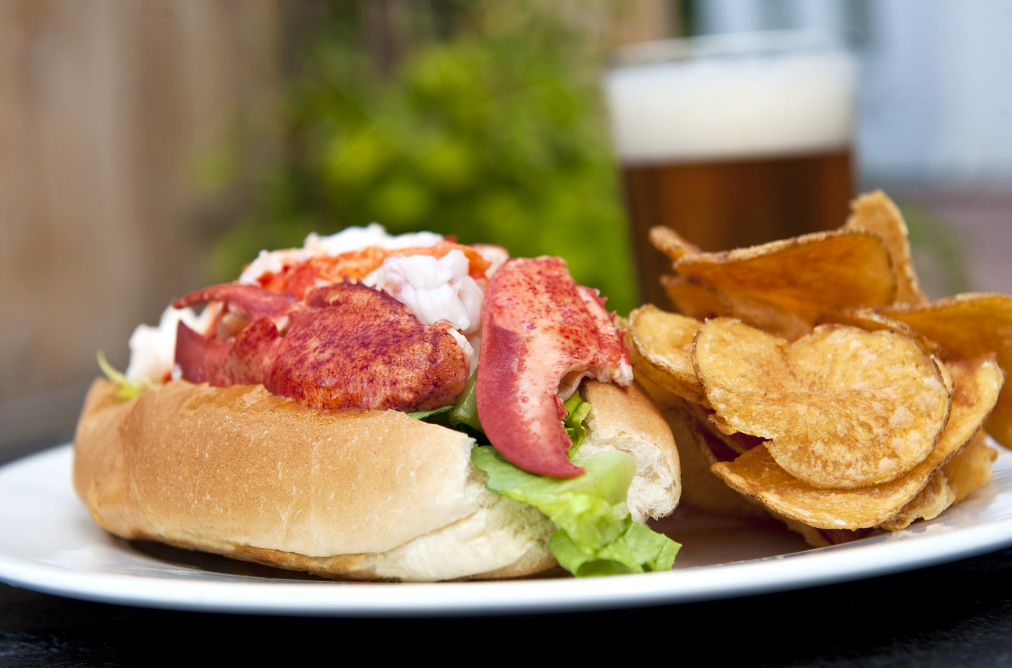 Maine Lobster Roll – Ted Axelrod