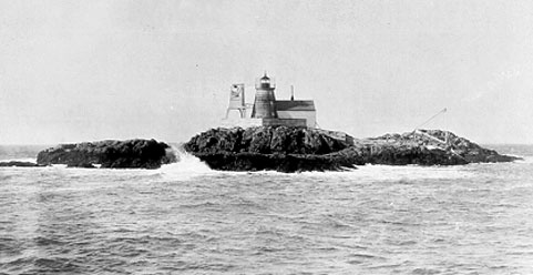 Historic Coast Guard photo of Saddleback Ledge