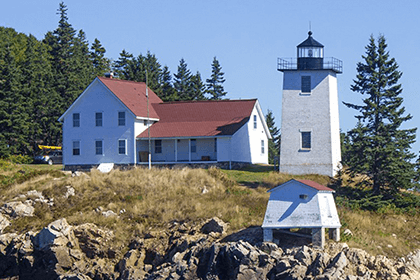 Burntcoat Harbor Lighthouse