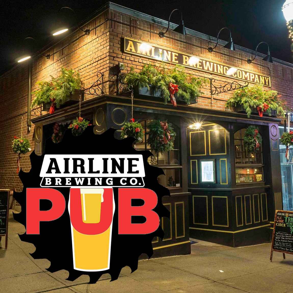 Airline Brewing Company Pub