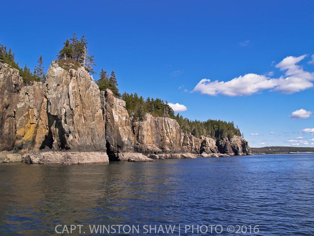 Offshore Island 100' Cliffs