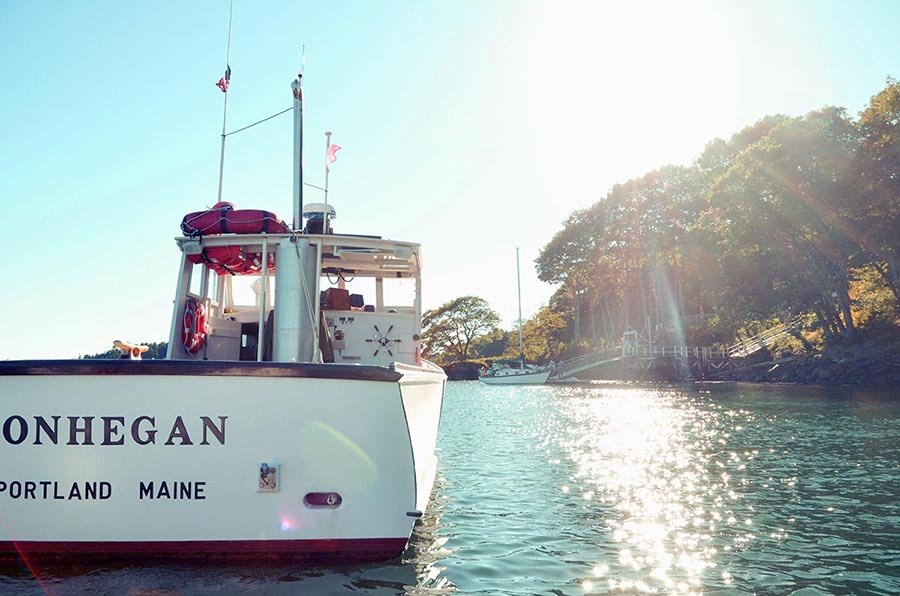 M/V Monhegan adds a classic Maine touch to any special event