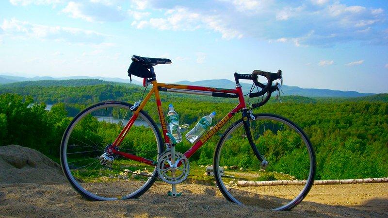Bike ride between Limerick and Porter Maine, RT160.