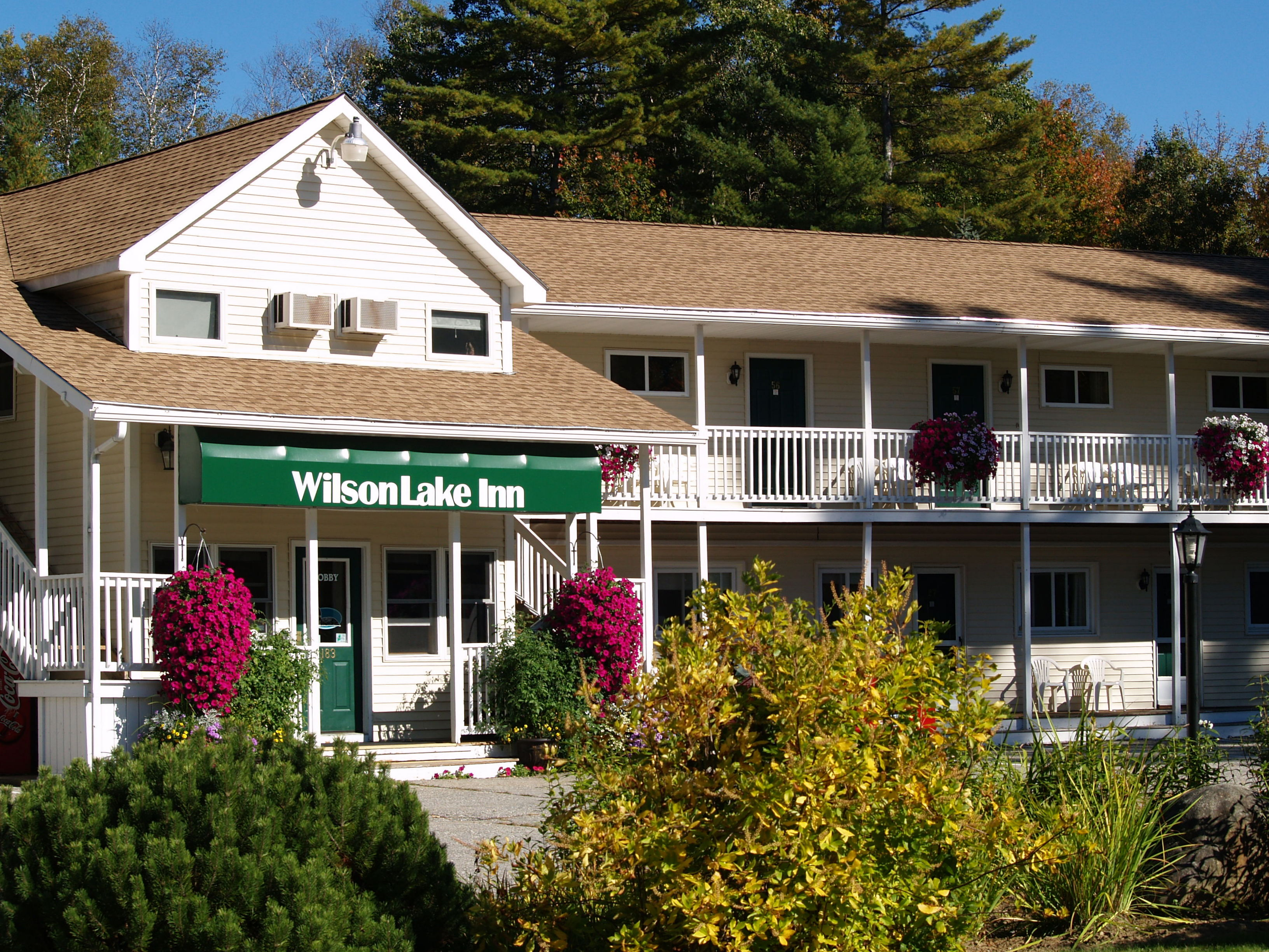 Wilson Lake Inn  Wilton, Maine