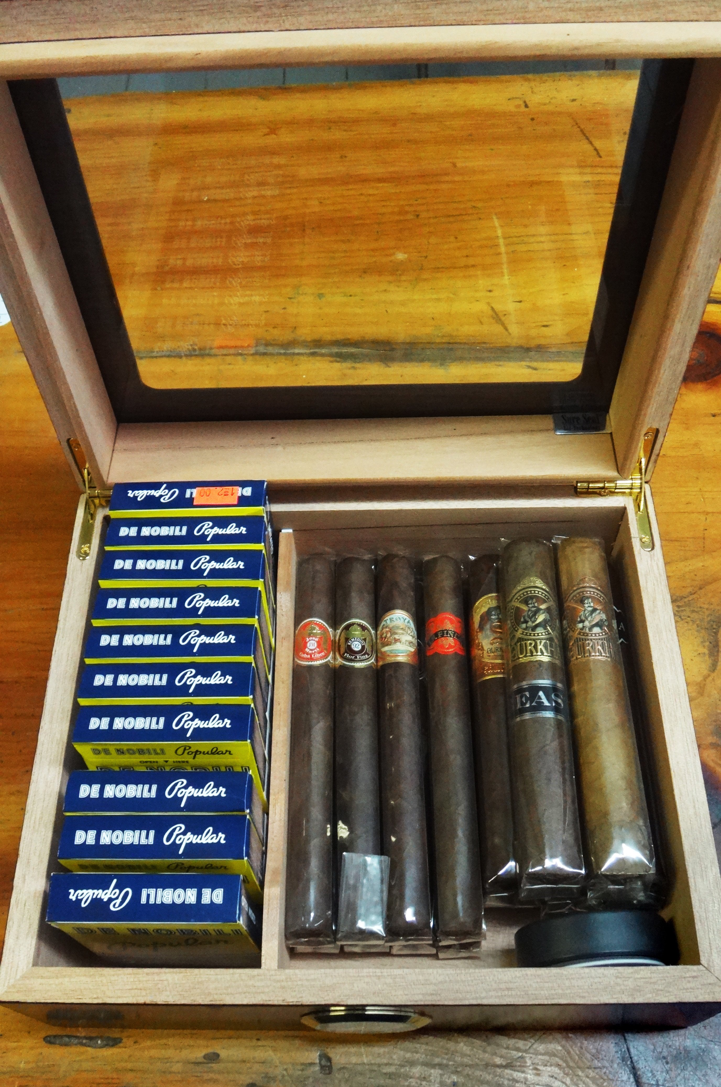 selection of fine cigars