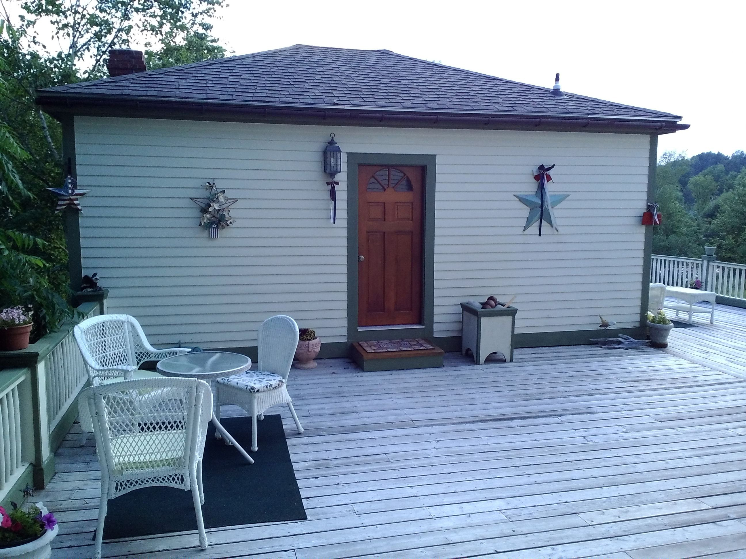 Carriage House and Deck