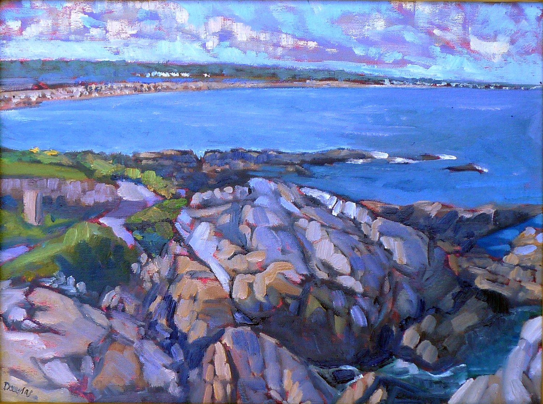 Ogunquit, oil on canvas