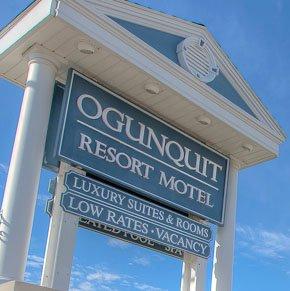 Ogunquit Resort Motel Sign
