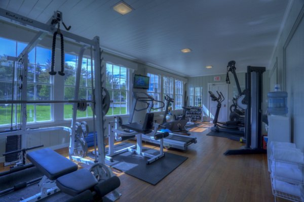 Fitness at Spruce Point Inn Resort, Maine
