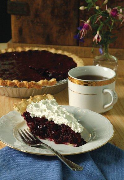 Multi-Berry Explosion Pie