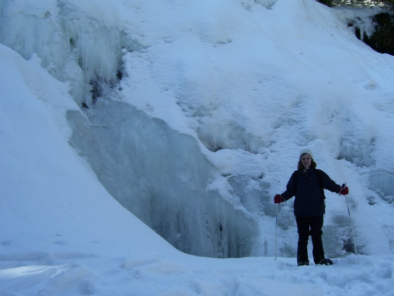 Waterfalls are great in the Winter too!