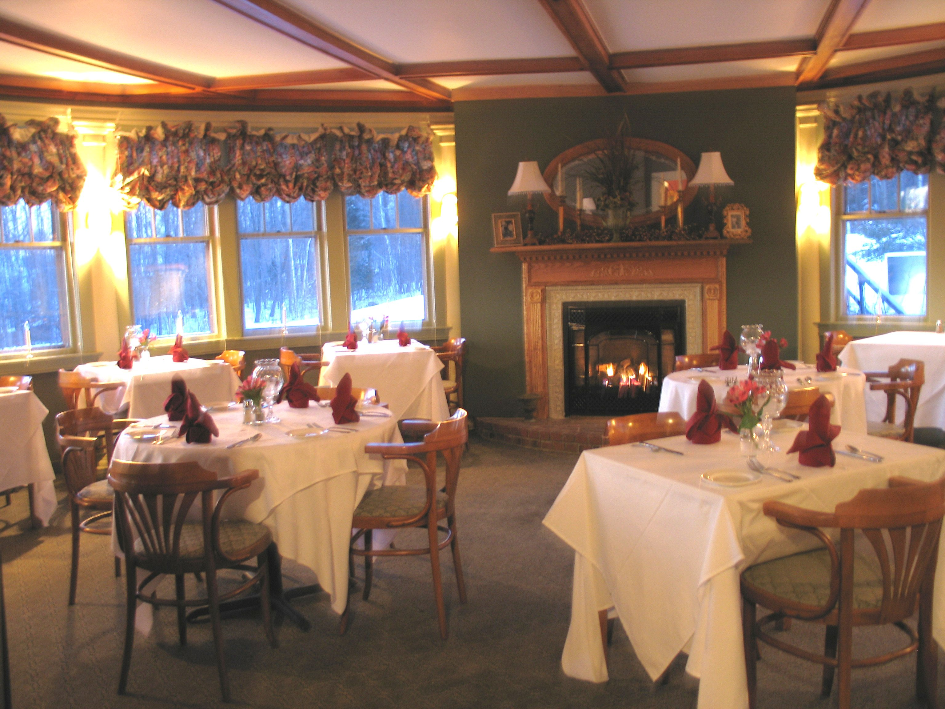 Exceptional cuisine, serene atmosphere and awe-inspiring views at The Greenville Inn