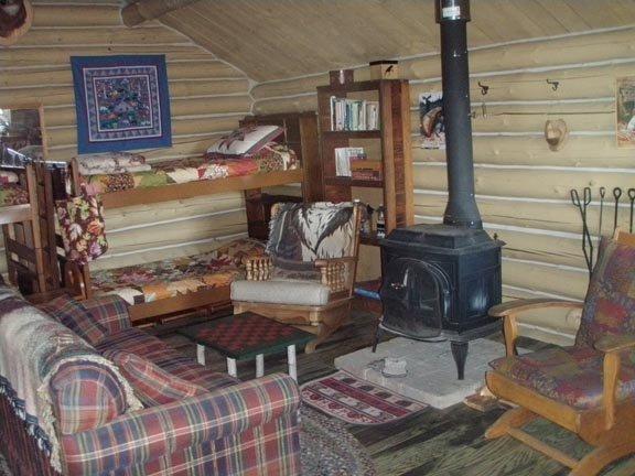 Bedroom in the rear