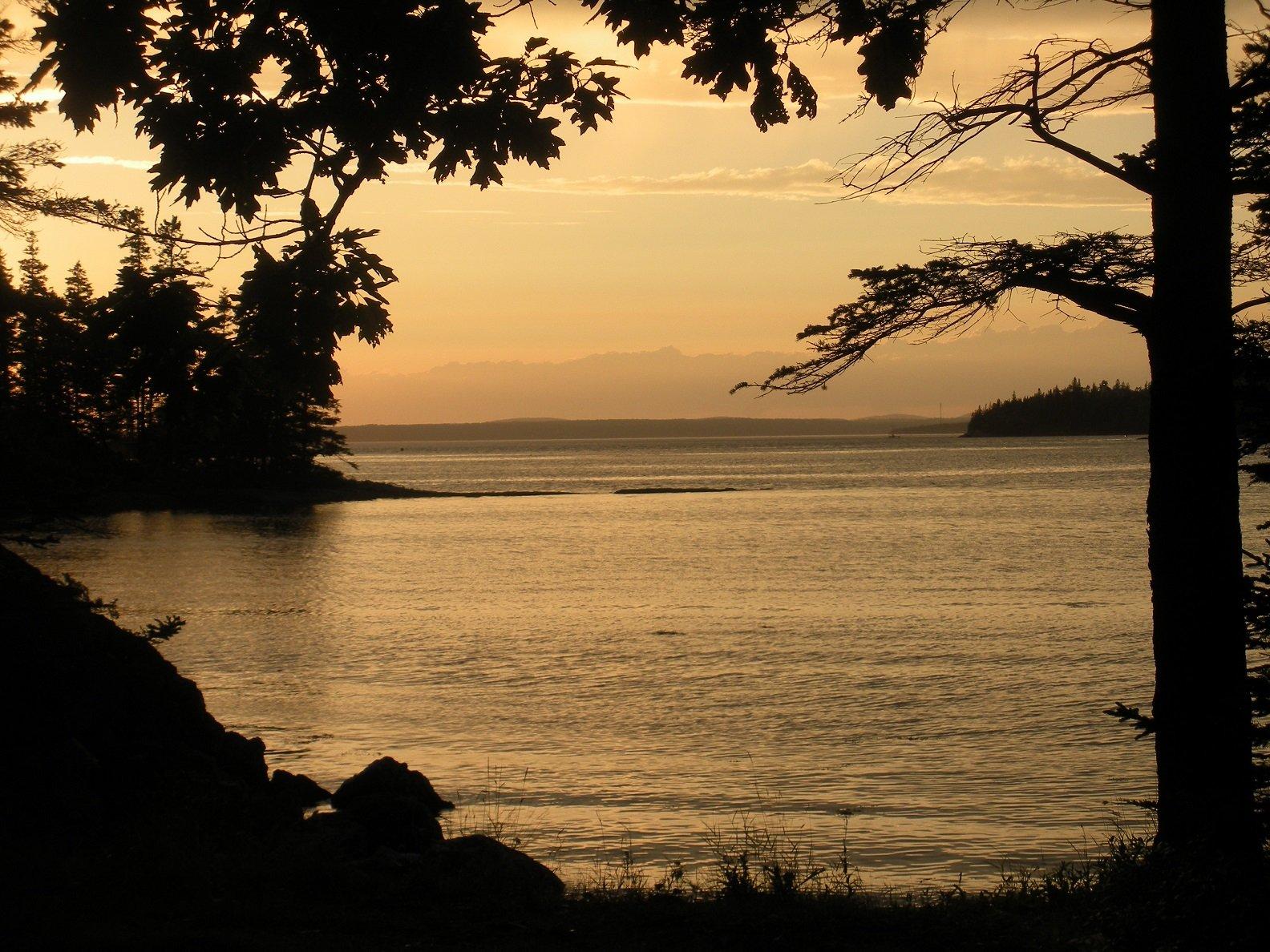 Penobscot Bay Sunset