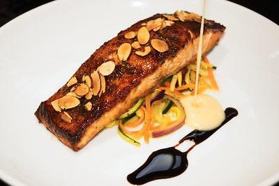 Famous Caramelized Salmon