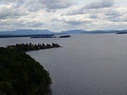 Moosehead Lake from Mt. Kineo