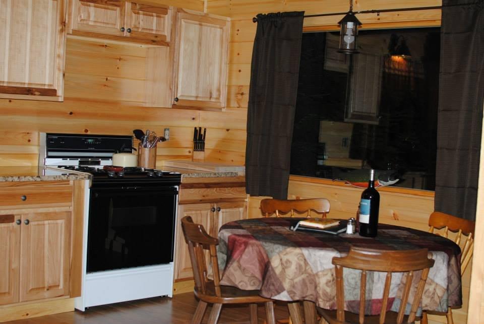 "Kitchen, cabin 5 (""Guide Camp"")."