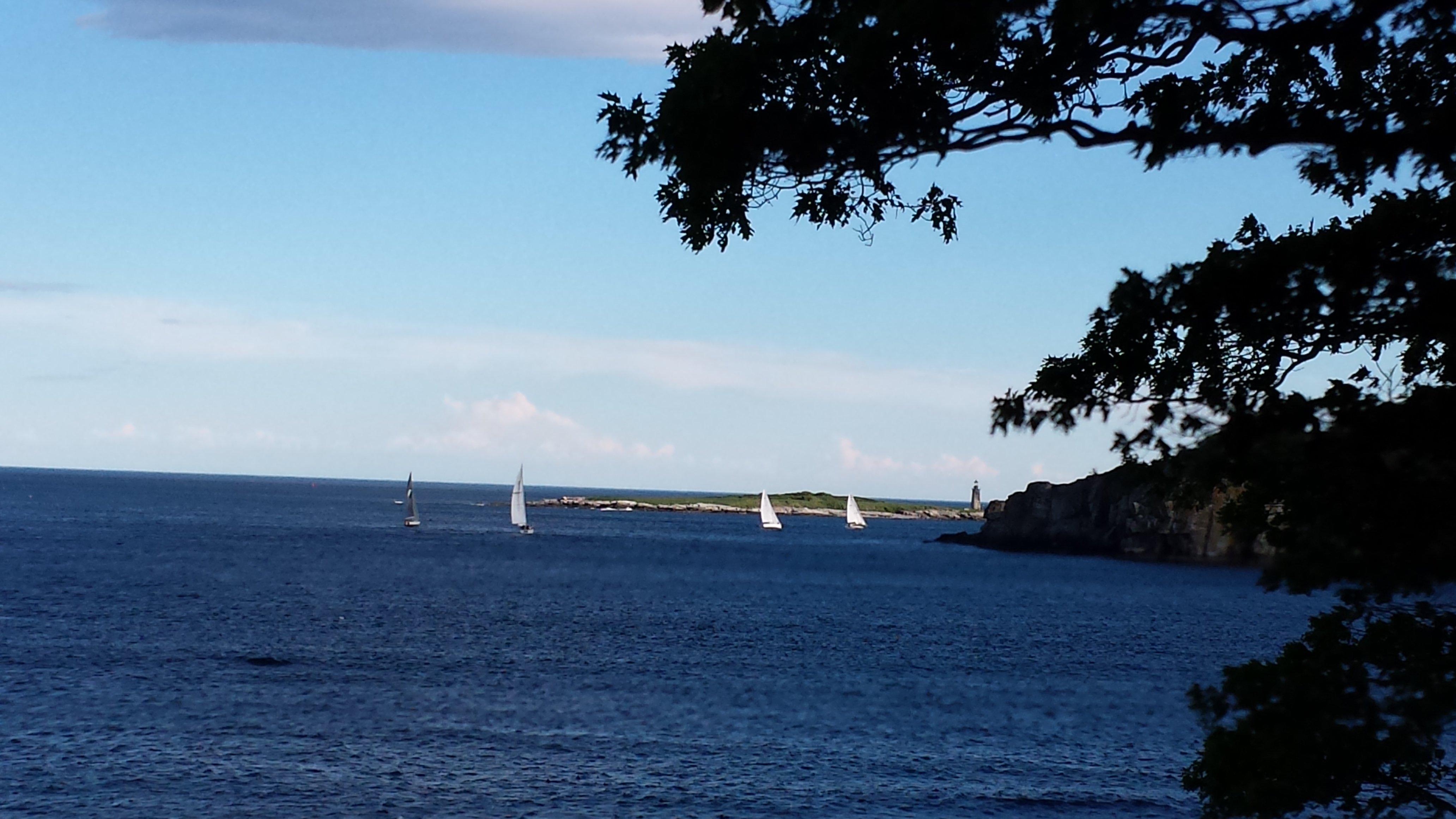 View to Atlantic Ocean