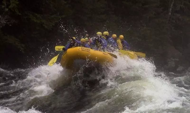 Maine's most exciting whitewater rating experience