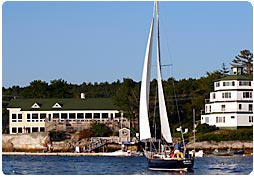 Sebasco Harbor Resort boating facilities / Seasonal moorings