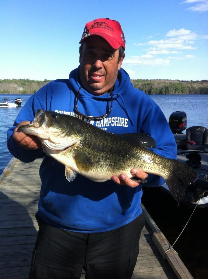 8 pound largemouth