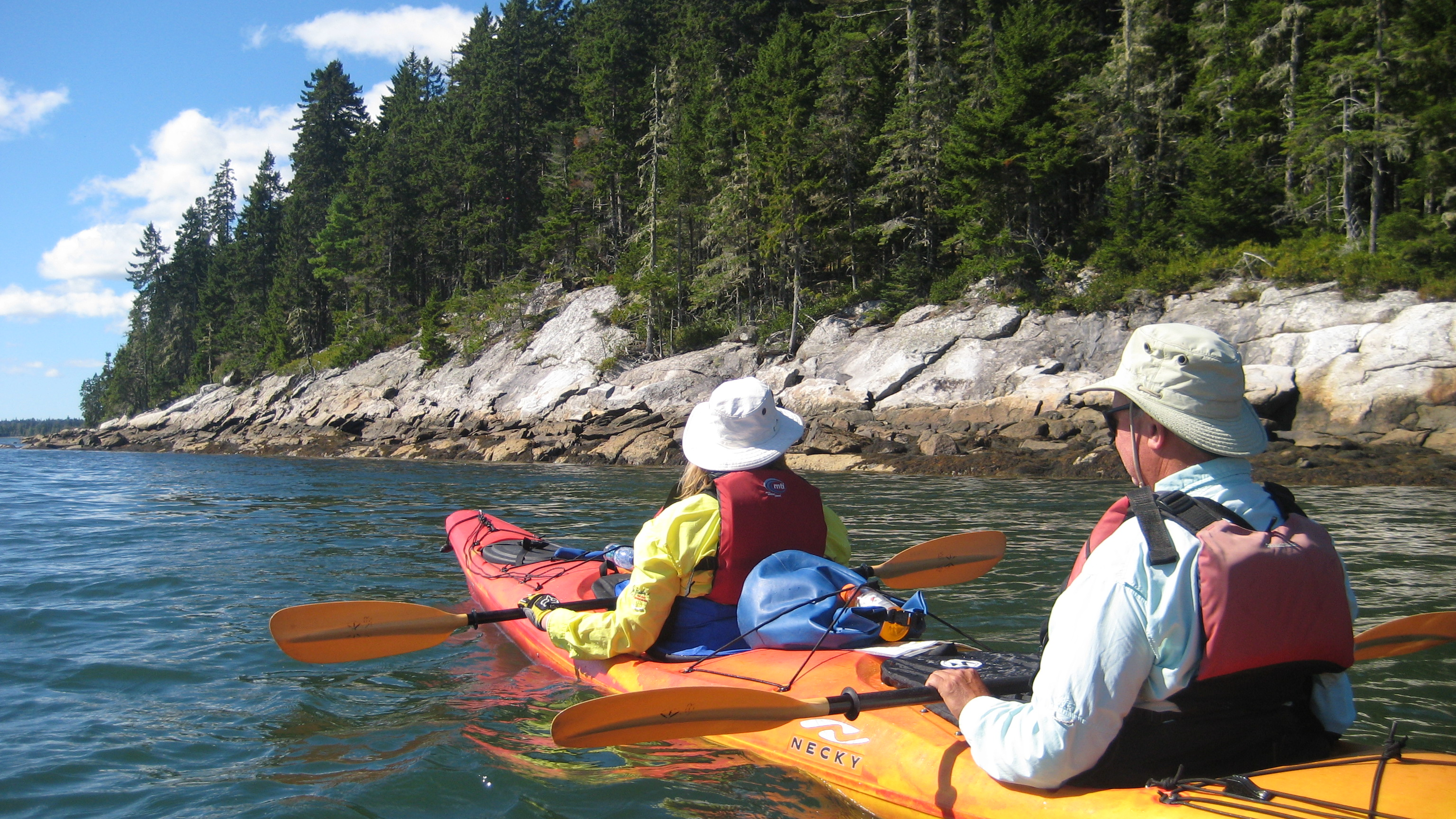 Sea Kayaking Full Day Trips - Maine Kayak