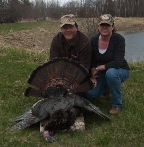 Maine turkey hunt
