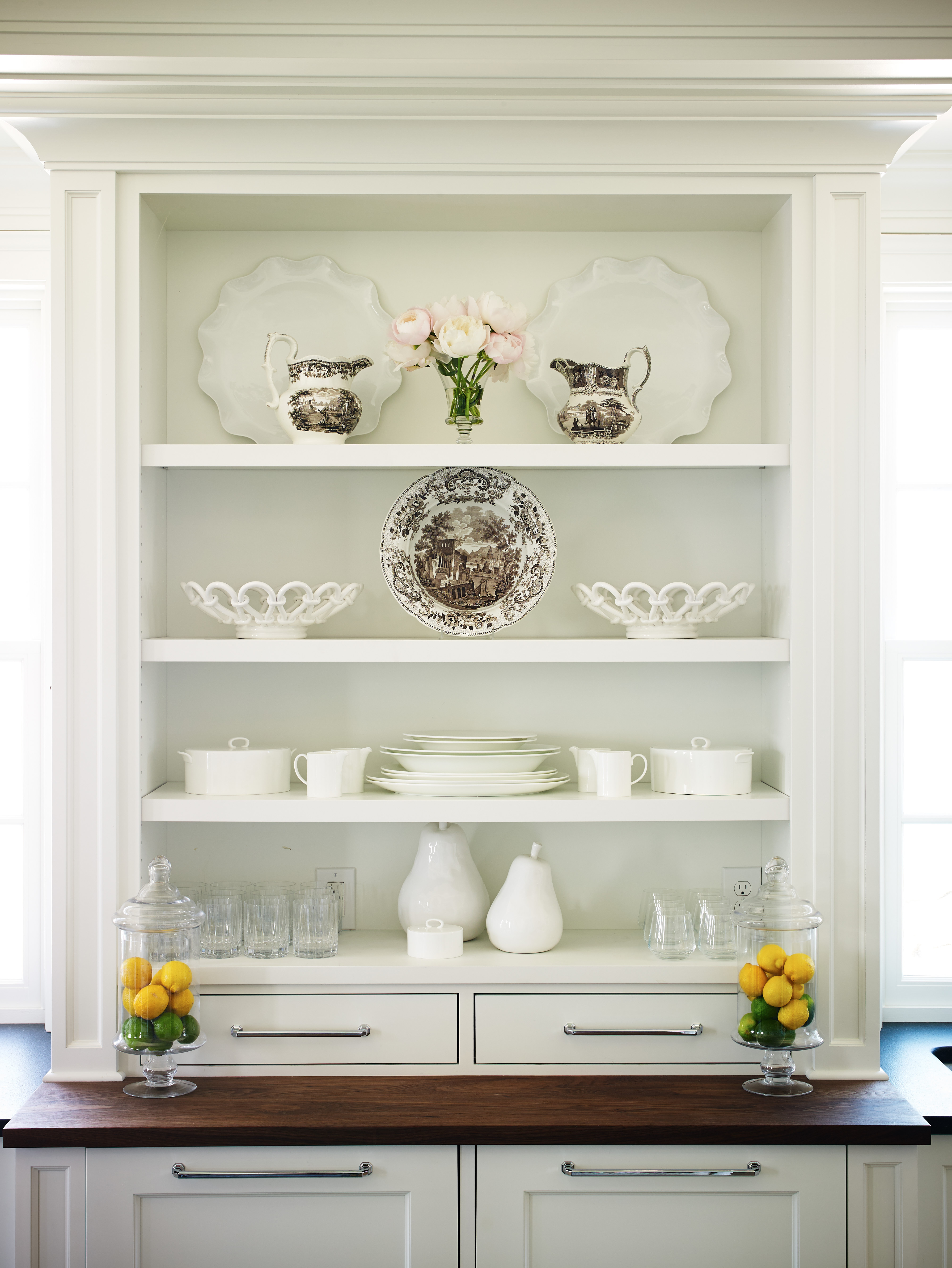 Elegant Custom Millwork Throughout the Lighthouse