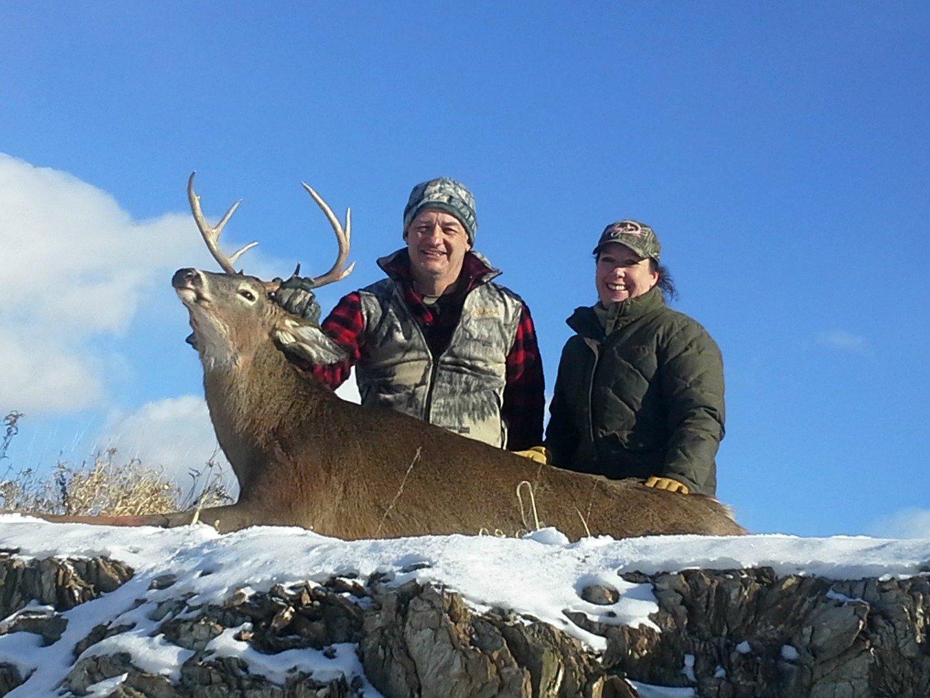 Maine deer hunt