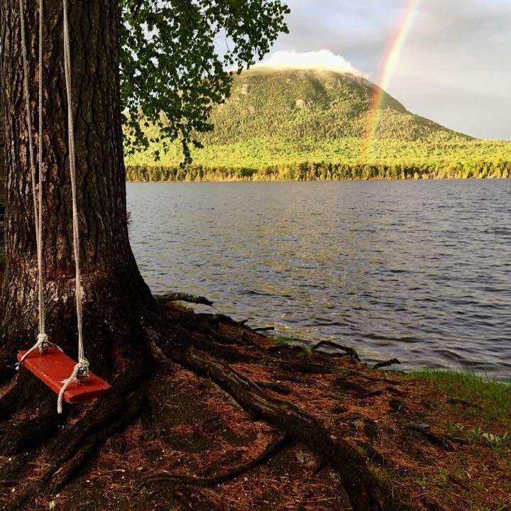 Rainbows are a common sight after summer thunderstorms