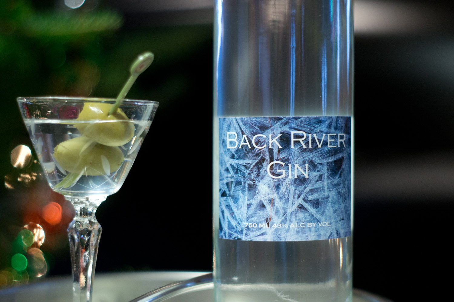 Back River Gin was named Best Gin in the World 2015 in the Fifty Best Gins competition.