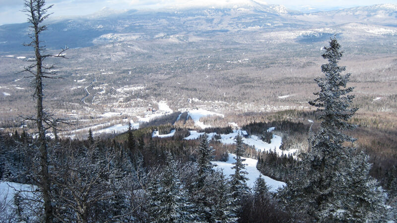 Enjoy the views from the largest ski area east of the Rockies.