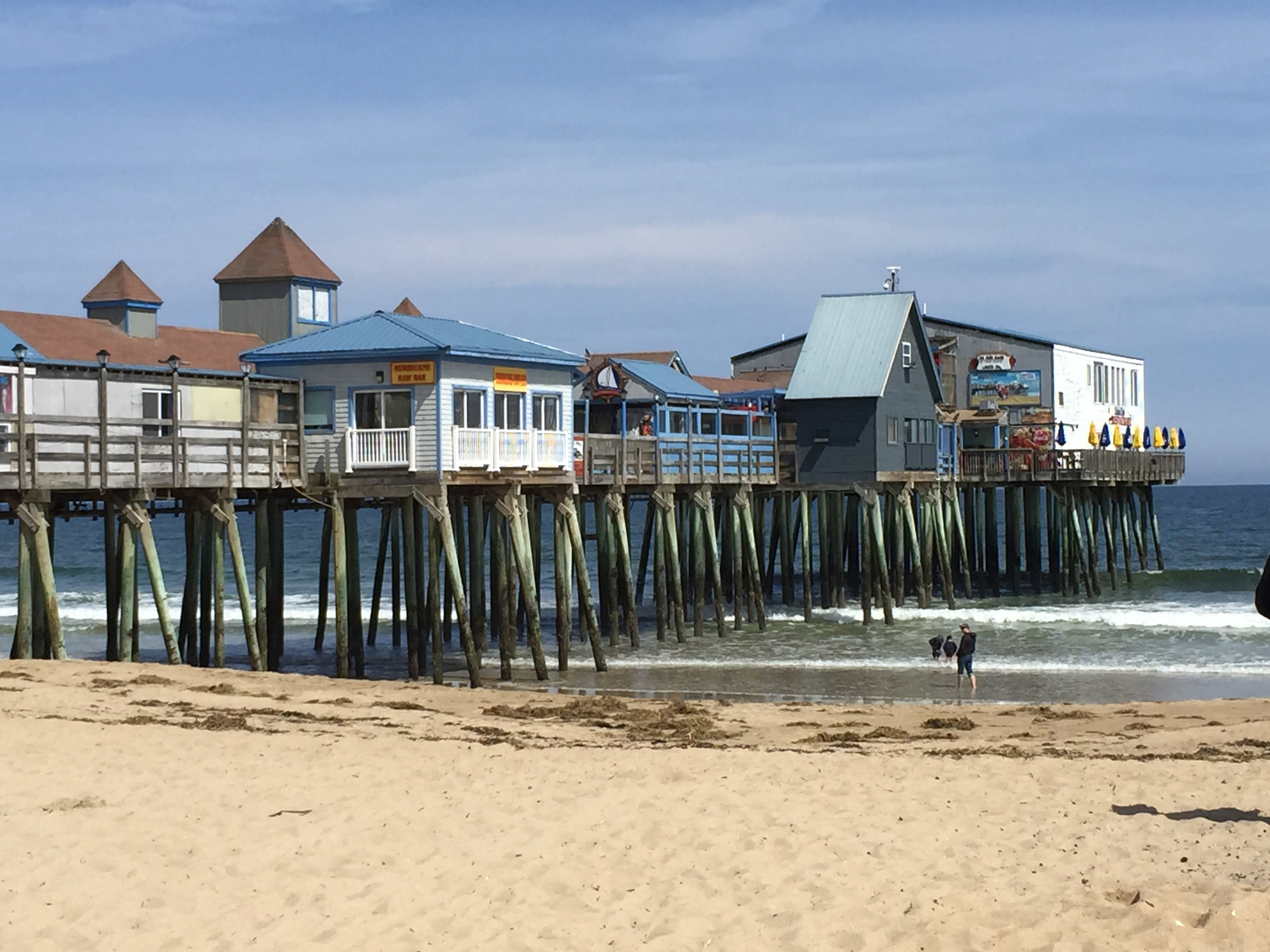 The Pier, in May