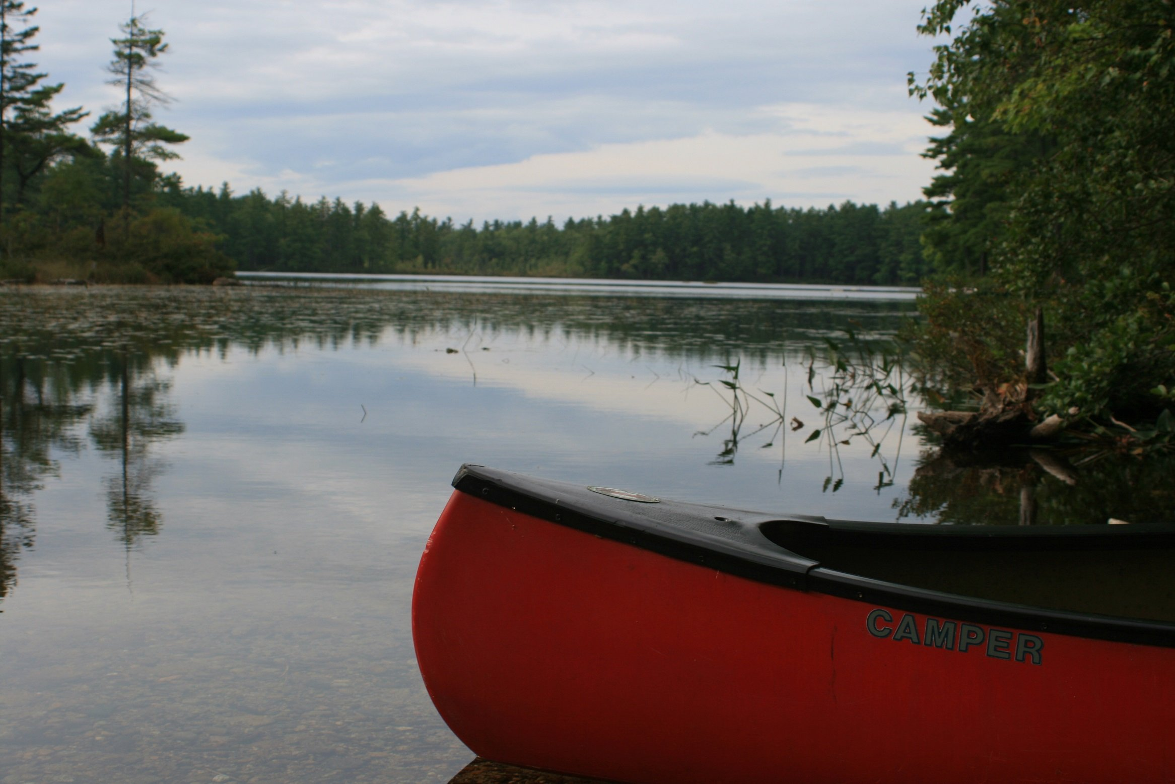Recreational add-on packages available including canoes, camp kitchen kits, paddleboards and fishing supplies.