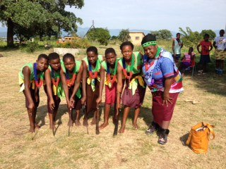 Tsonga traditional dance in South Africa