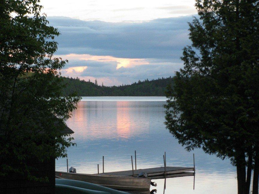 Dawn over Enchanted Pond at Bulldog Camps
