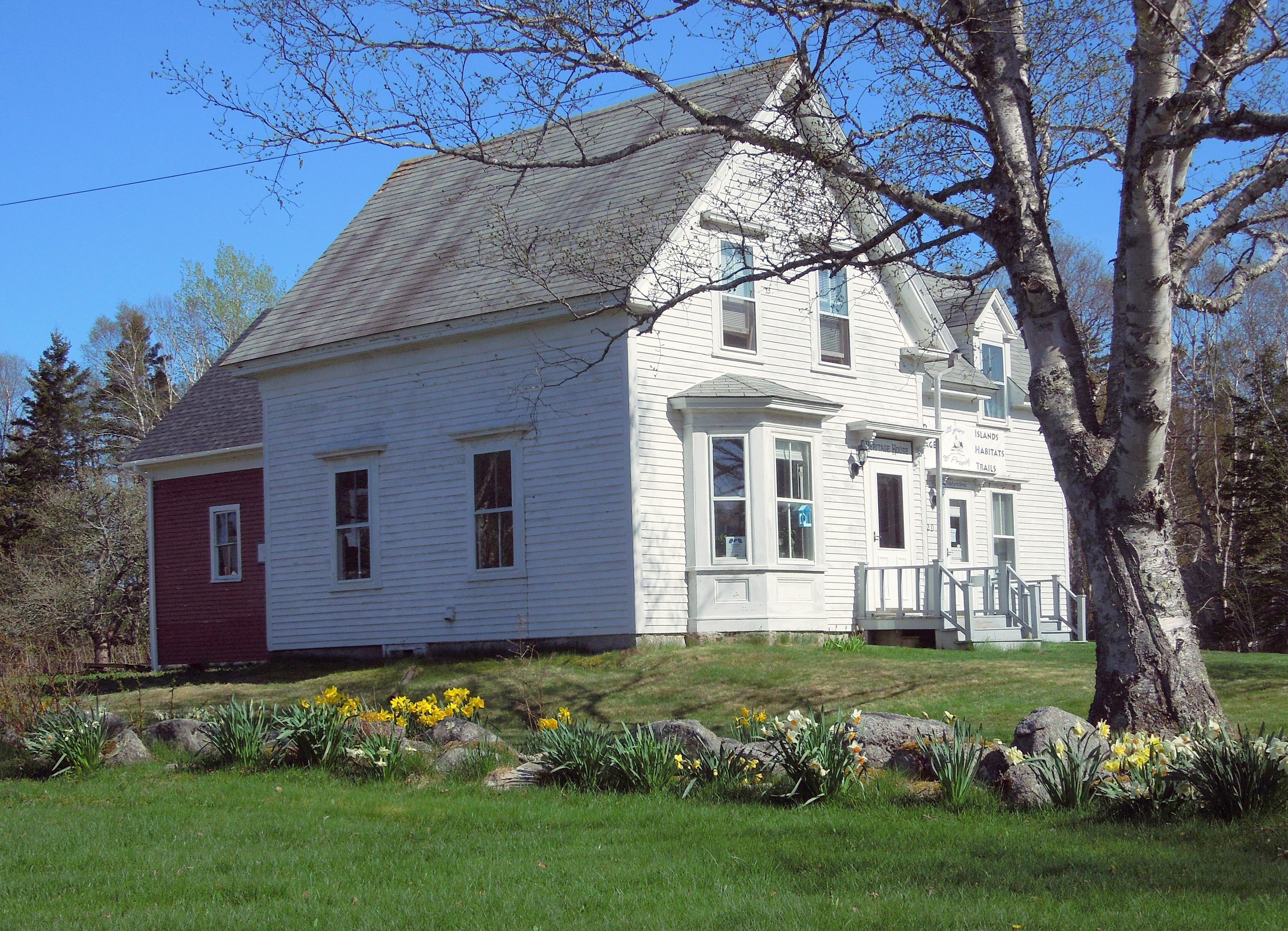 Island Heritage Trust's Heritage House in Sunset, ME.  Stop by, we love visitors.