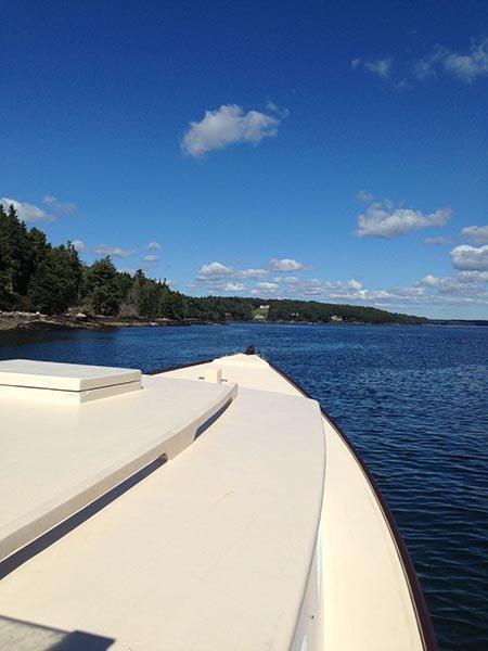 Cruising Maine's picturesque coastline aboard M/V MONHEGAN