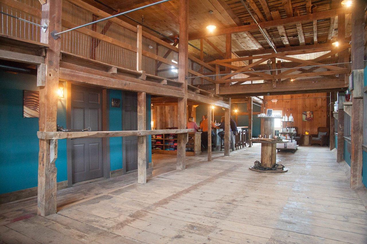Wiggly Bridge Distillery Barn