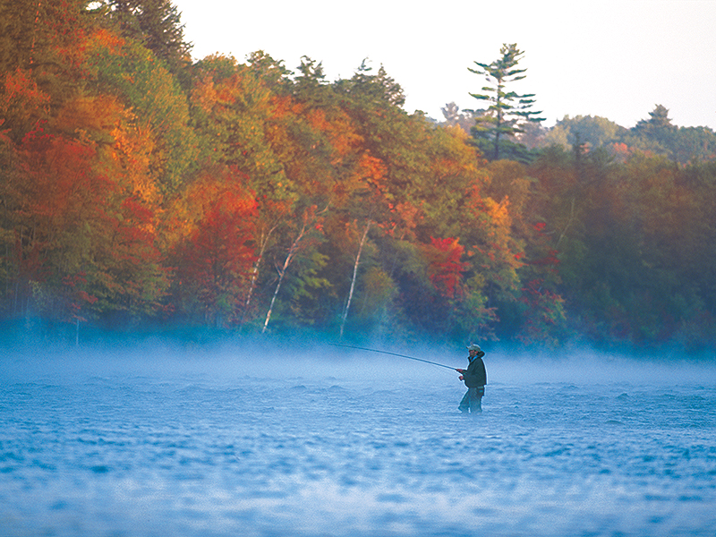 Fishing Maine Lakes, Ponds & Streams